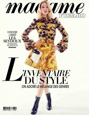 Lea Seydoux - Madame Figaro Cover - 2020