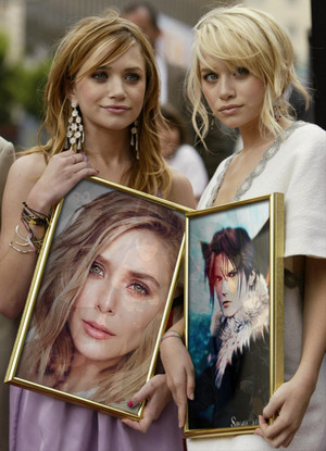 MARY KATE AND ASHLEY OLSEN AND LIL SIS ELIZABETH OLSEN AND HIS Squall1982
