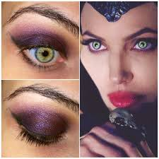 Maleficent Inspired Eye Shadow