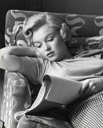 Marilyn Looking Over A Script