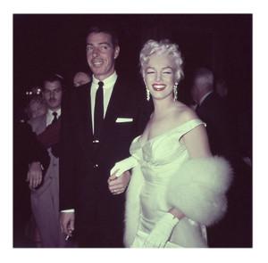 Marilyn Monroe, Joe DiMaggio. June 1955