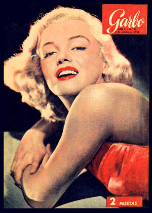 Marilyn Monroe ~ Vintage Magazine Cover