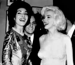 Marilyn Talking With Maria Callas