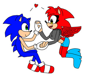 Me and sonic