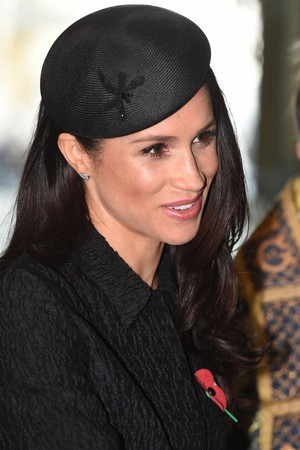 Meghan ~ Anzac día Service at Westminster (2018)
