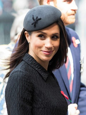 Meghan ~ Anzac jour Service at Westminster (2018)