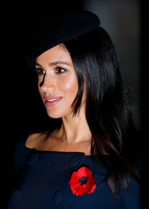 Meghan ~ Centenary of WW1 Armistice (2018)