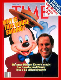 Michael Eisner On The Cover Of Time