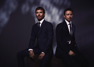 Michael Fassbender and James McAvoy - Vanity Fair Italy Photoshoot - 2019