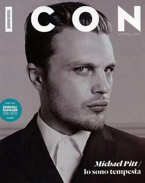 Michael Pitt - Icon Magazine Cover - 2012