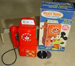 Mickey Mouse Talking Pay Phone