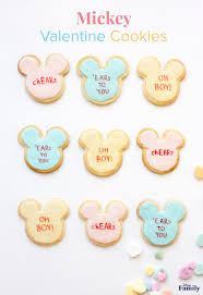 Mickey Valentine Cookies