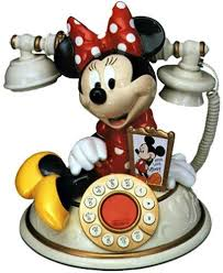 Minnie Mouse Desk Phone