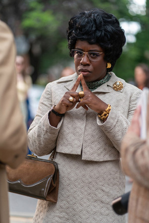 Mrs. America First Look: Uzo Aduba as Shirley Chisholm