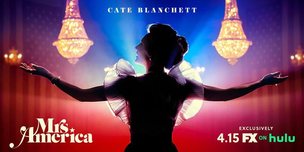 Mrs. America - Season 1 Poster - Cate Blanchett as Phyllis Schlafly