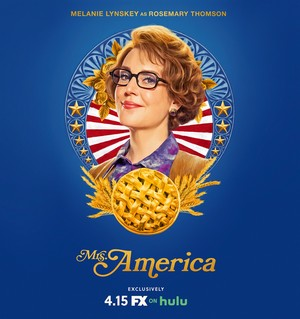 Mrs. America - Season 1 Poster - Melanie Lynskey as Rosemary Thomson