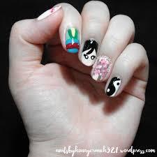 मूलन Inspired Nail Art