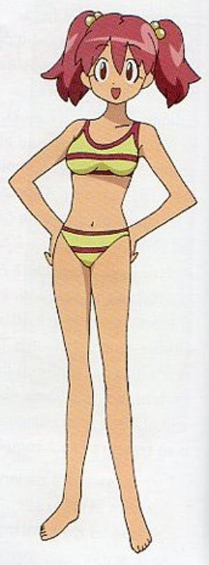 Natsumi Hinata in bikini