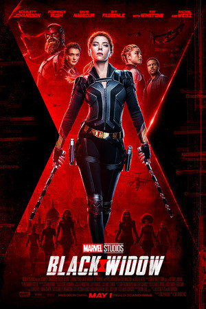 New official poster for Black Widow (2020)
