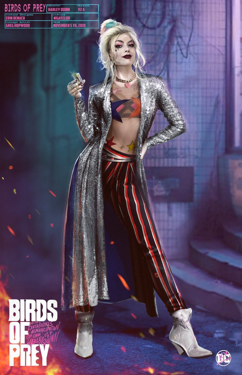 Official Birds Of Prey Concept Art Harley Quinn Birds Of Prey 2020 Photo 43229912 Fanpop