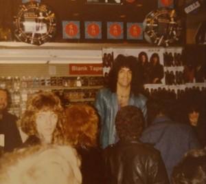 Paul ~Manhattan, New York...March 3, 1984 (Sam Goody)