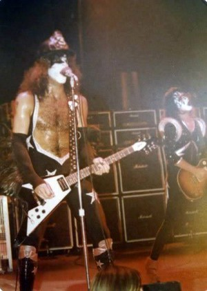 Paul and Ace ~Milwaukee, Wisconsin...February 4, 1976 (Alive Tour)