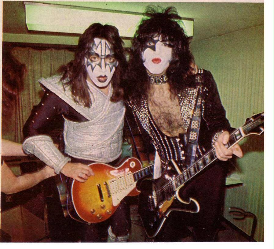Paul and Ace ~Tokyo, Japan...March 24-April 2, 1978 (Alive II Tour)