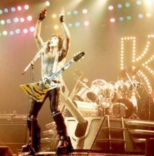 Paul and Eric ~Bloomington, Minnesota...February 18, 1983 (Creatures of the Night Tour)