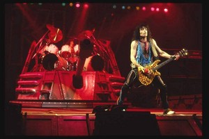 Paul and Eric ~Toronto, Ontario, Canada...March 15, 1984 (Lick it Up Tour)