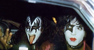 Paul and Gene ~Tokyo, Japan...March 18, 1977