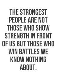 Quote Pertaining To Strength