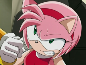 Raging Amy Rose