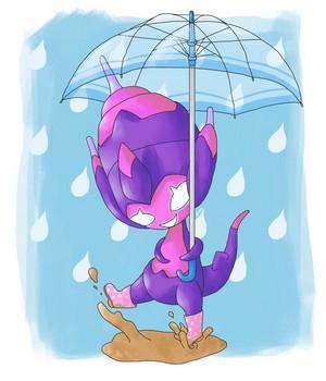 Rainy giorno Poipole