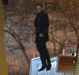 Richard Madden on the set of The Eternals in London January 21, 2020