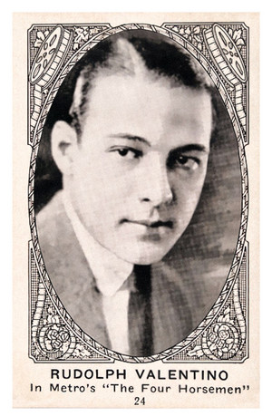 Rudolph Valentino 1921