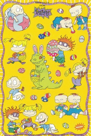 Rugrats Happy Easter 2020 바탕화면