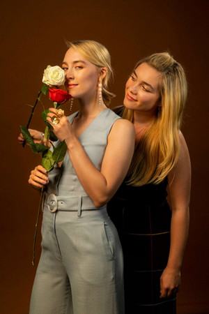 Saoirse Ronan and Florence Pugh - LA Times Photoshoot - 2019