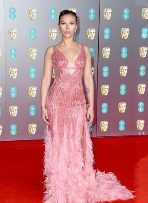 Scarlett Johansson - 73rd British Academy Film Awards, लंडन — February 2, 2020