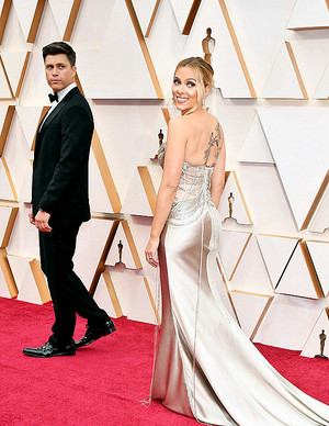 Scarlett Johansson and Colin Jost - 92nd Annual Academy Awards February 9, 2020