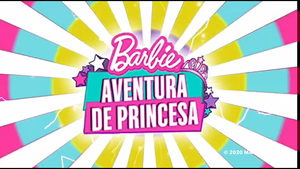 バービー Princess Adventure Logo
