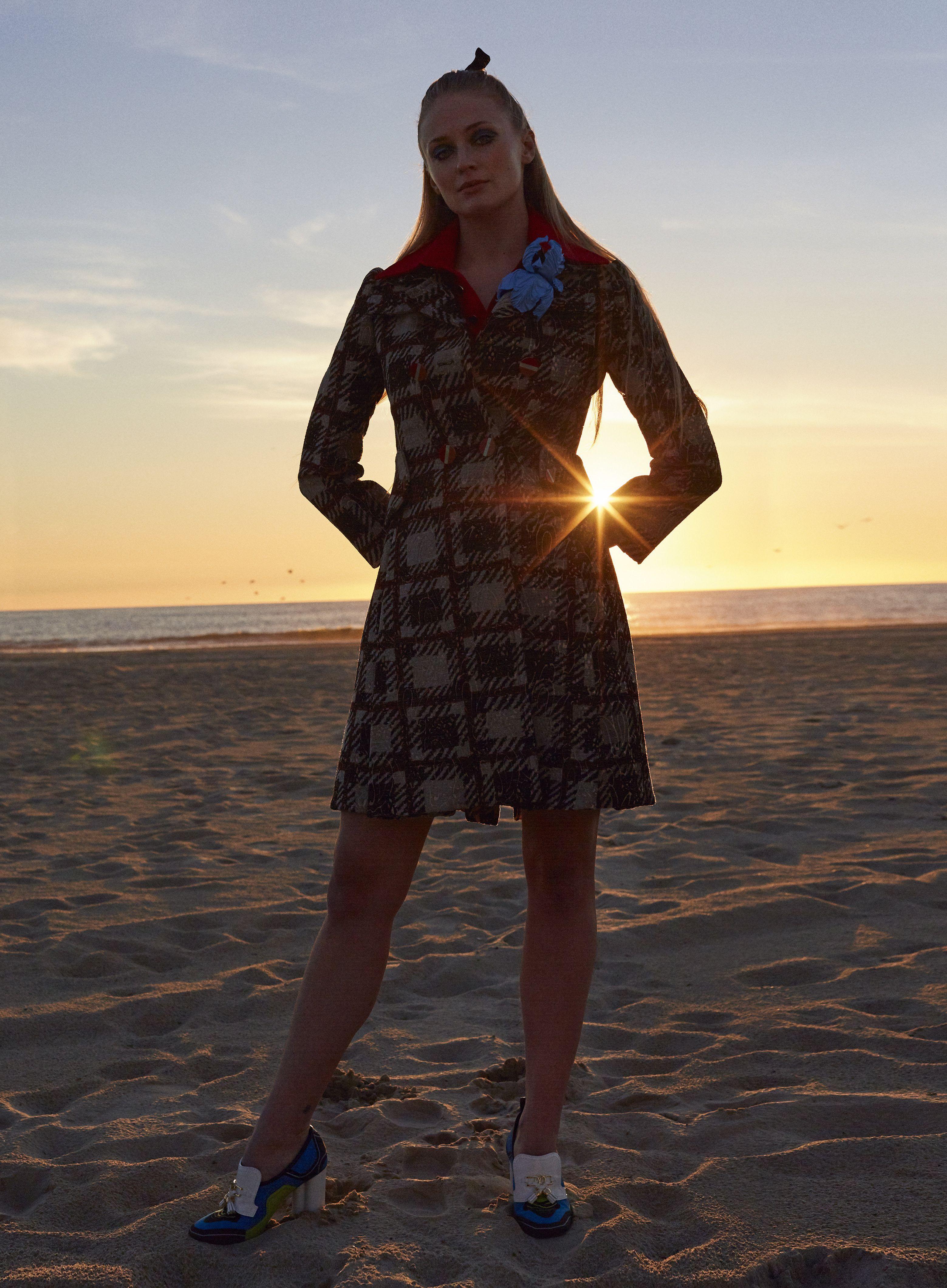 Sophie Turner ~ Elle ~ April 2020