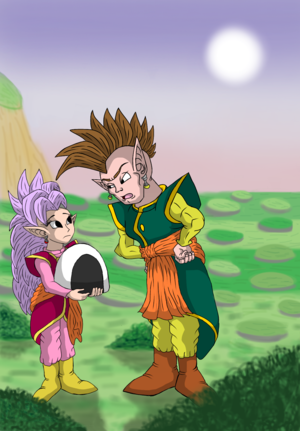 South and West Supreme Kai Fanart