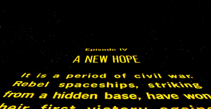 étoile, star Wars: A New Hope