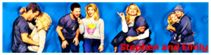 Stephen Amell and Emily Bett Rickards - Profil Banner