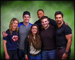 Stephen and Emily // Walker Stalker Con, March 16th, 2014.