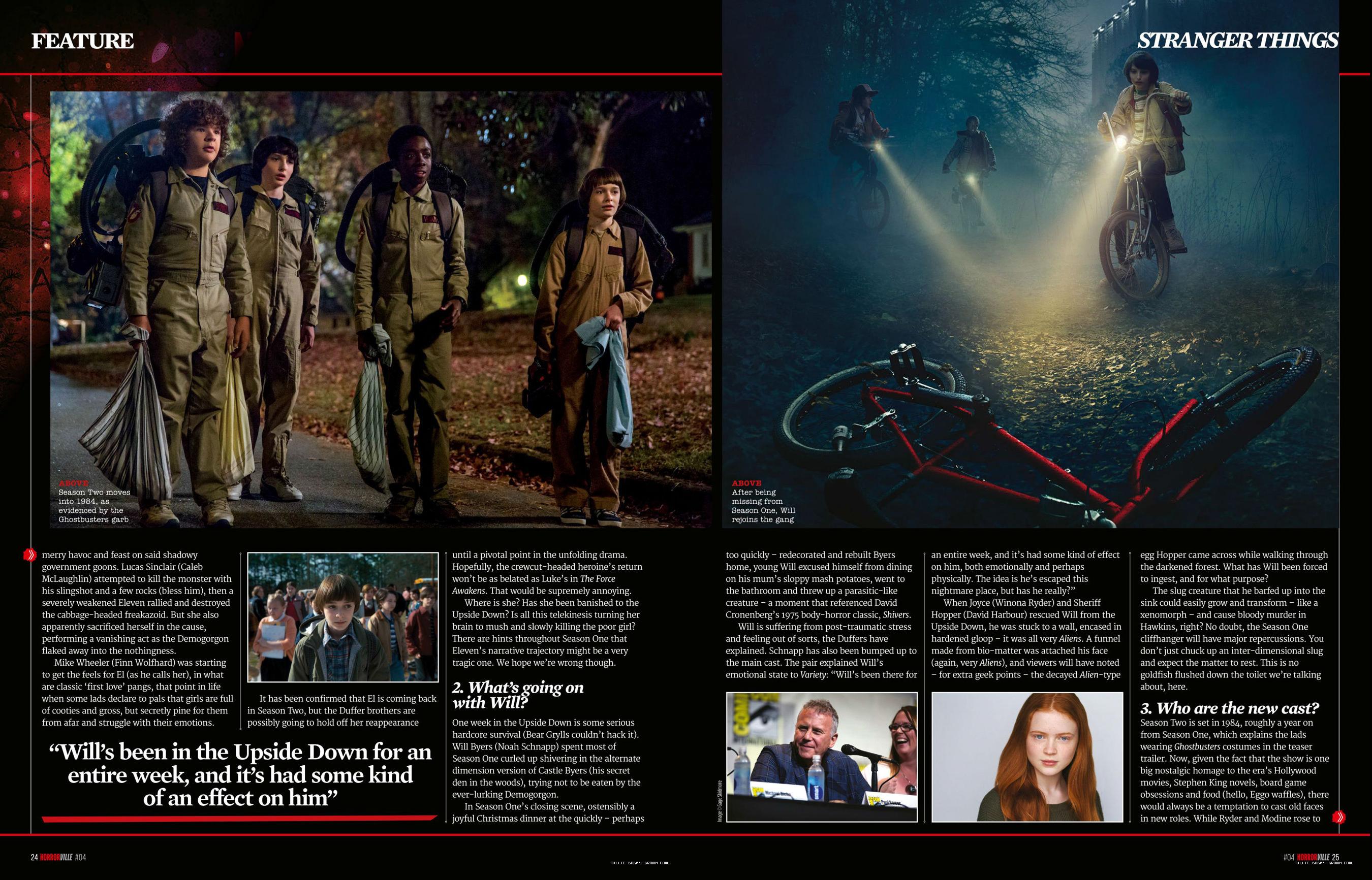 Stranger Things in Horrorville Magazine - 2017 [2]