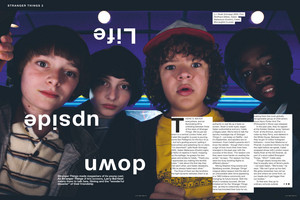 Stranger Things in NME Magazine - 2017 [1]