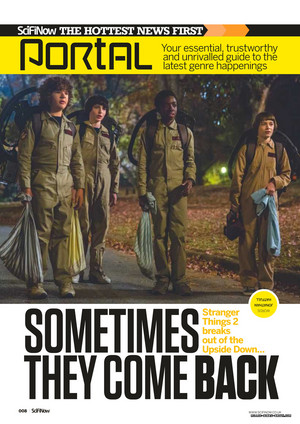 Stranger Things in SciFiNow Magazine - 2017 [1]