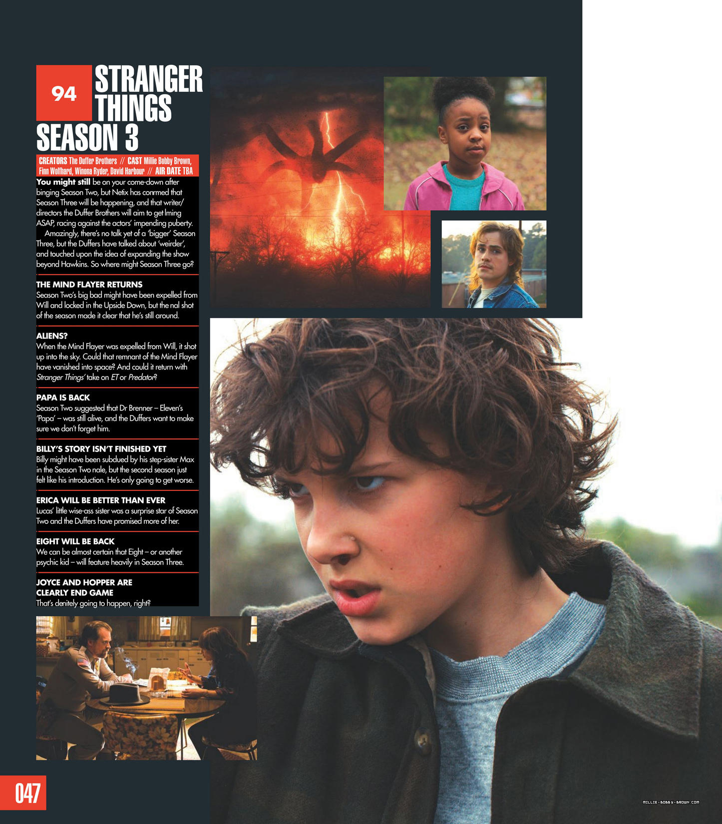 Stranger Things in SciFiNow Magazine - 2017 [10]