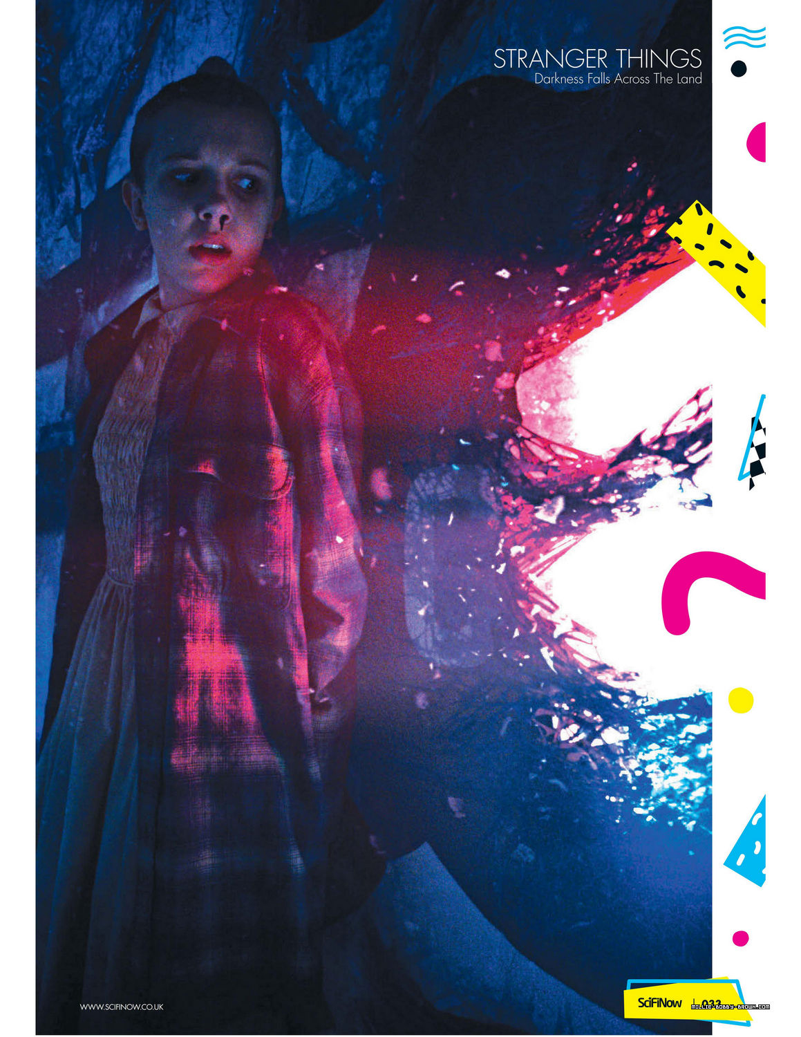Stranger Things in SciFiNow Magazine - 2017 [4]